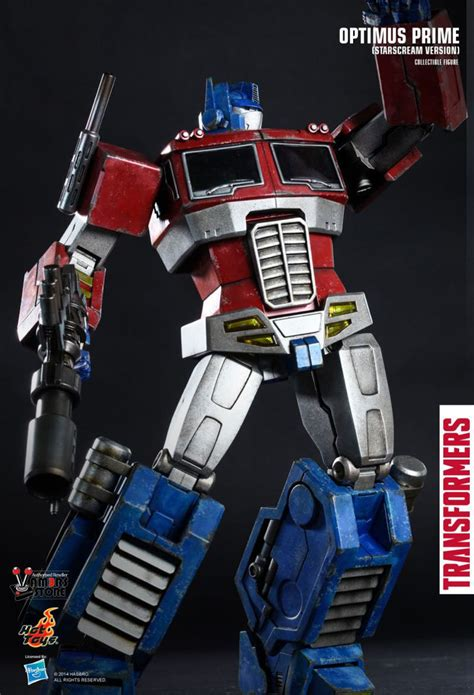 hot toys optimus prime collectible figure vamers store