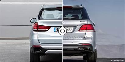 Mercedes Bmw X5 Gle Rear Amg Benz