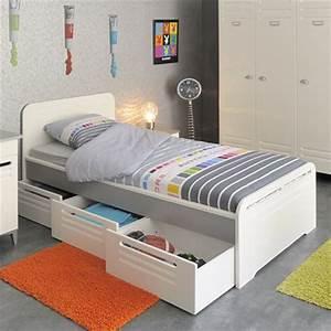 Lit Ikea Avec Tiroir : lit une personne pas cher ~ Mglfilm.com Idées de Décoration