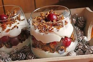 Dessert Mit Johannisbeeren : weihnachtliches lebkuchen schicht dessert von maire ~ Lizthompson.info Haus und Dekorationen