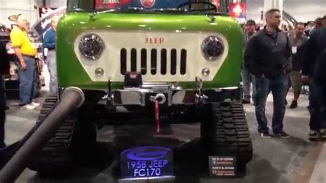 jeep forward control sema jeep forward control on tracks sema youtube