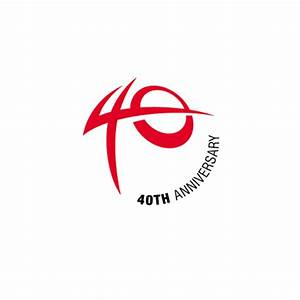 Aktio Corporation. 40th Anniversary Logo