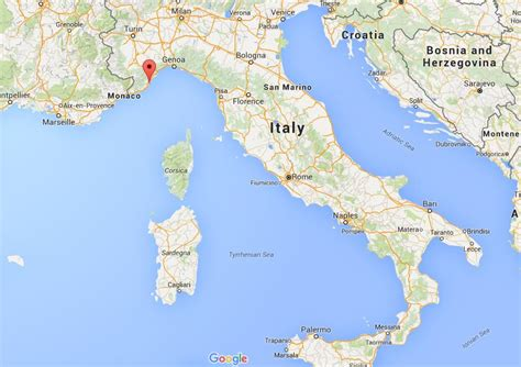 Where is Alassio on map Italy   World Easy Guides