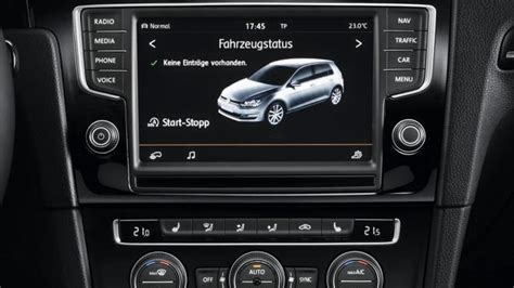 golf 7 discover pro volkswagen confirms car net infotainment system in u s