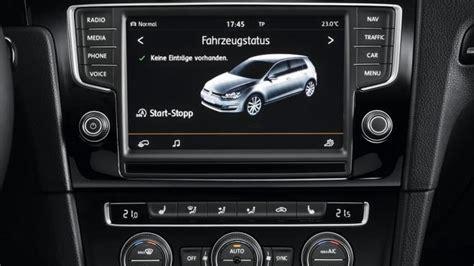 golf 7 radio volkswagen confirms car net infotainment system in u s