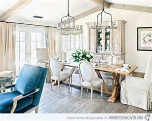 Shabby Chic Dining Room 15 pretty and charming shabby chic dining rooms home