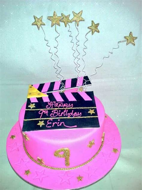 Pink Movie Themed Cakes