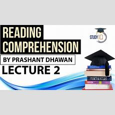 Reading Comprehension Strategies Part 2 For Ibps Clerk Cat Bank Po Ssc Cgl Upsc Chsl Ldc Mts