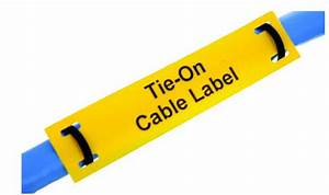 Tie-on Cable Labels  Polyester Laser Printable
