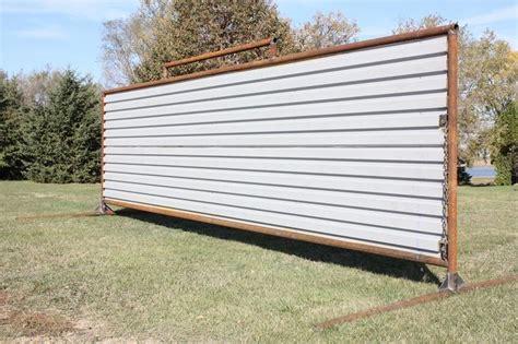standing panels wind break corral nd double mfg gackle listing rpr inc