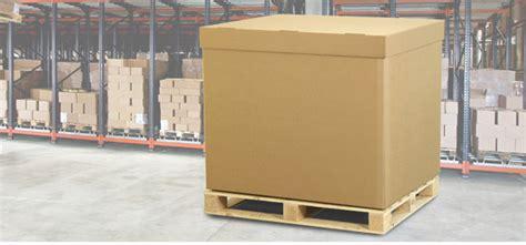 corrugated cardboard box pallet