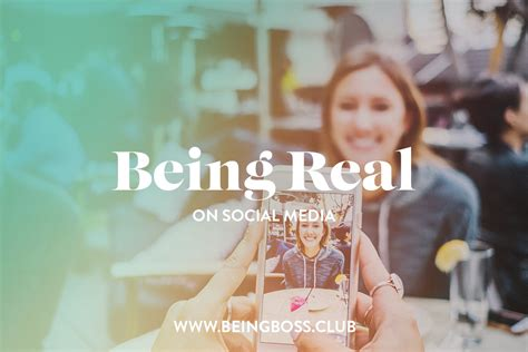 being real on social media for entrepreneurs business owners