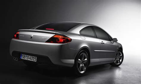 Peugeot 407 Coupe by 407 Coupe Handsome In An Of Way We Think