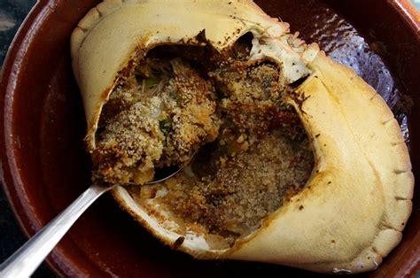 cuisiner un tourteau crabe farci à l 39 antillaise kiyakuisine
