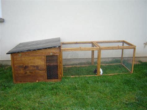 cabane pour lapin exterieur fabrication d un enclos pour lapin page 5