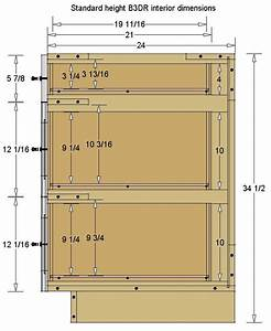 Image Result For Base Drawer Interior Dimensions