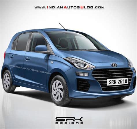 2018 Hyundai Santro New Render Reveals More