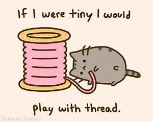 Pusheen the cat GIFS. | Fantage Fluffiness