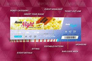 Blank Movie Ticket Template Ticket Template 23 Download Documents In Pdf Psd