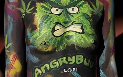 Wallpapers Marijuana Bodyart Cannabis Ganja Cartoons Desktop