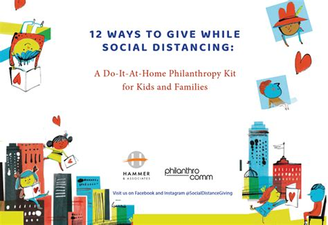 12 Ways to Give While Social Distancing: A Do it at home