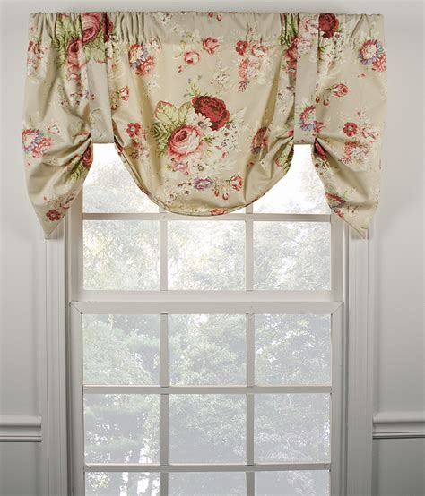 sanctuary lined tie up valance kitchen valances