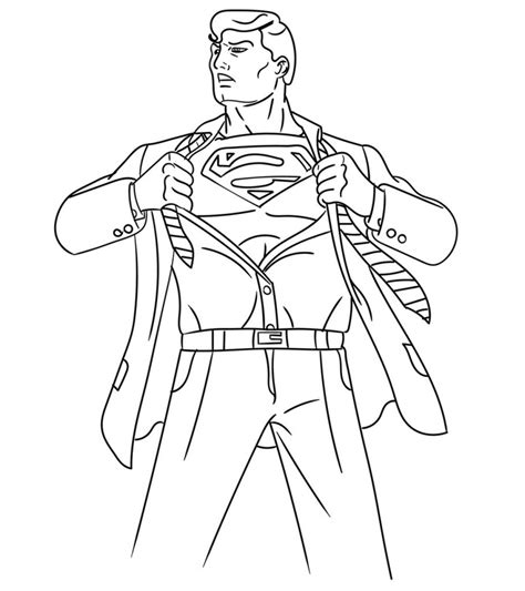 top   printable superman coloring pages