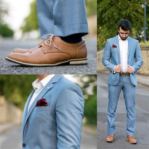 braune schuhe kombinieren 1001 ideen wie blauer anzug braune schuhe und passende accessoires kombiniert werden