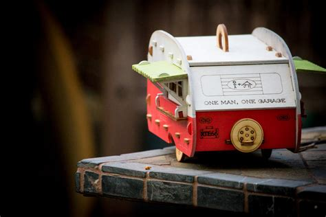 retro birdhouse camper kit   perfect backyard