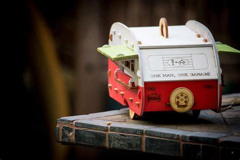 retro birdhouse camper kit   perfect backyard