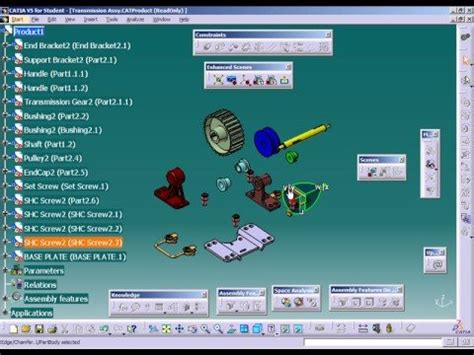 catia    create  exploded view youtube
