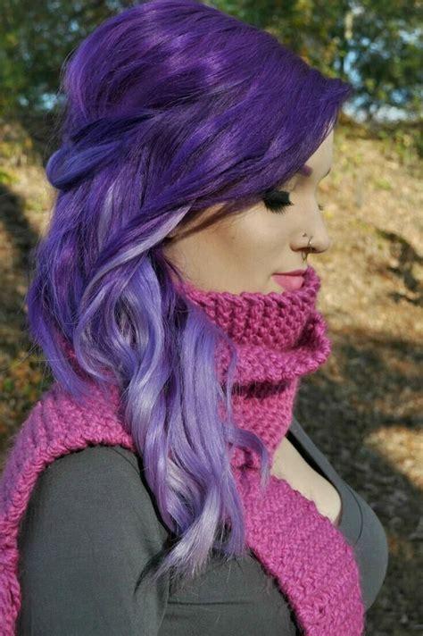 20 Romantic Purple Hairstyles For 2016 Pretty Designs
