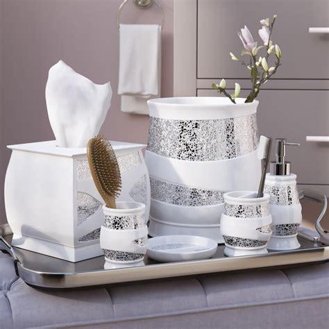 willa arlo interiors rivet  piece whitesilver bathroom