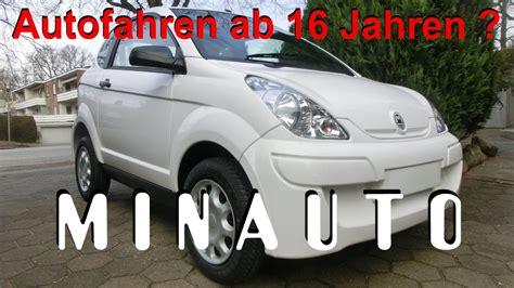 Aixam Minauto Mopedauto Microcar Auto Fahren Ab 16