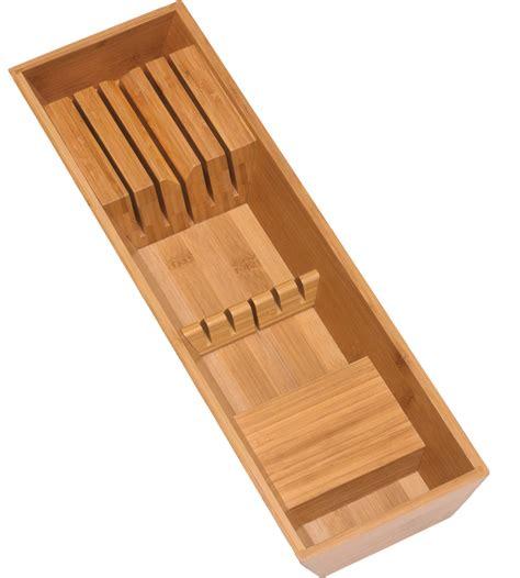 In Drawer Knife Block in Knife Storage