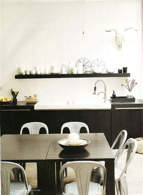 ideas decoracion blanco  negro  comedores ideas casas