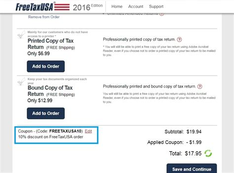 freetaxusa coupons
