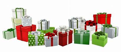 Presents Transparent Clipart Gifts Gift Present Clip