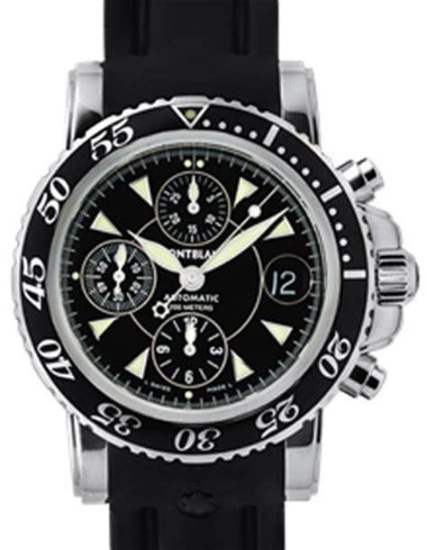 montre mont blanc chronographe prix