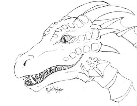 dragon coloring pages printable  adhd dragon