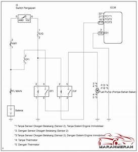 Sistem Sfi  U0026gt  Sirkuit Kontrol Pompa Bahan Bakar Toyota
