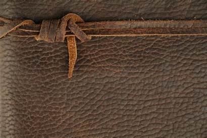 Leather Texture Journal Bound Tied Rope Material