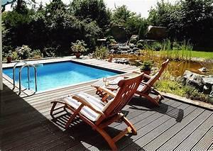 Kleiner Pool Terrasse : pool im hausgarten zehn goldene regeln zum eigenen schwimmbad gartengestaltung inhortas ~ Sanjose-hotels-ca.com Haus und Dekorationen