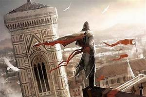 Assassin's Creed 2 concept art in Florence, Italy ...