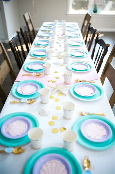 karas party ideas pastel mermaid birthday party karas