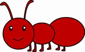 Cute Cartoon Ant - Cliparts.co