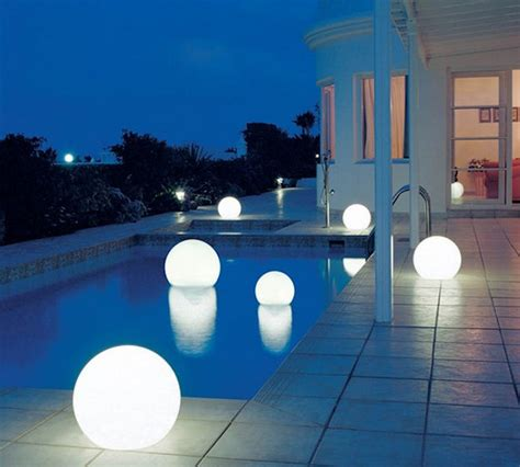 solar pool lights make evenings more memorable the solar