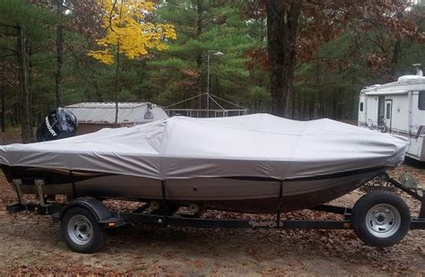 Crest Pontoon Boat Snap On Covers by 2007 Crestliner 1700 Fish Hawk Sc Boat Cover Testimonial