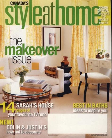 home decorating magazines canada style at home magazine canada house design ideas
