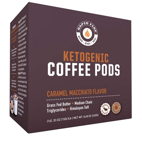See more ideas about food, low carb recipes, keto recipes. Rapid Fire Caramel Macchiato Ketogenic High Performance Keto Coffee Pods, Supports Energy ...